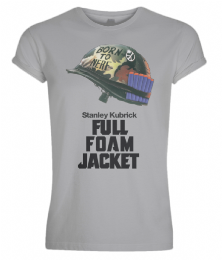 Full Metal Jacket Nerf Unisex Adult Rolled Sleeve T-Shirt